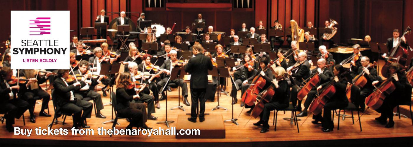 Seattle Symphony Orchestra Benaroya Hall