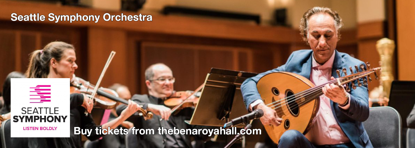 Seattle Symphony tickets Benaroya Hall