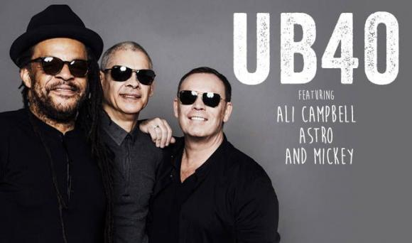 UB40, Ali Campbell, Astro & Mickey Virtue at Benaroya Hall