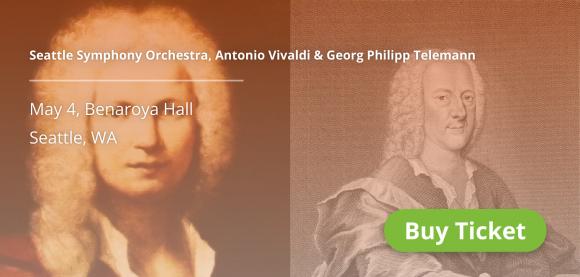 Seattle Symphony Orchestra: Pablo Rus Broseta - Vivaldi & Telemann at Benaroya Hall