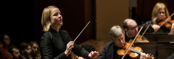 Seattle Symphony Orchestra: Ruth Reinhardt - Beethoven and Tchaikovsky at Benaroya Hall