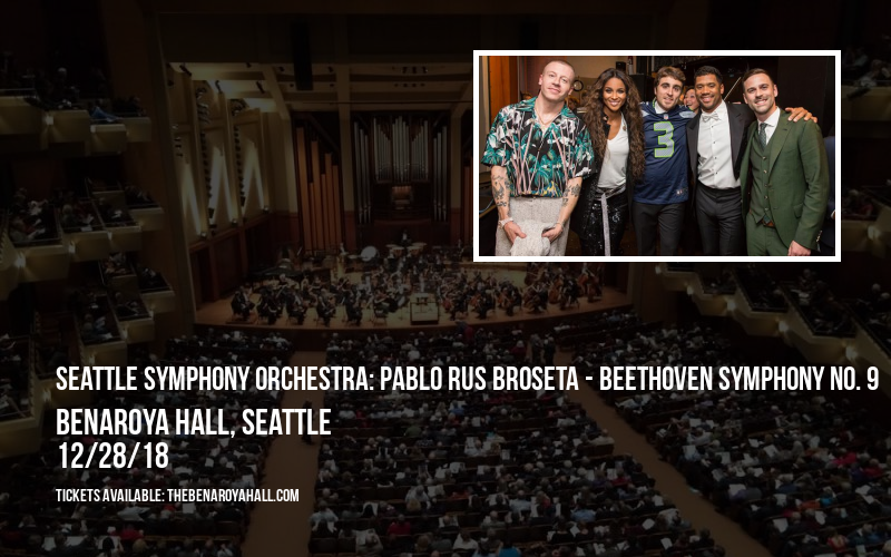 Seattle Symphony Orchestra: Pablo Rus Broseta - Beethoven Symphony No. 9 at Benaroya Hall