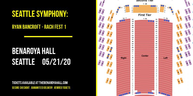 Seattle Symphony: Ryan Bancroft - Rach Fest 1 at Benaroya Hall