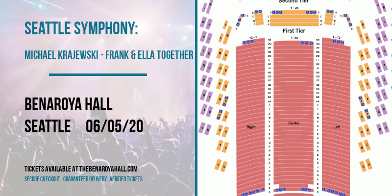 Seattle Symphony: Michael Krajewski - Frank & Ella Together at Benaroya Hall
