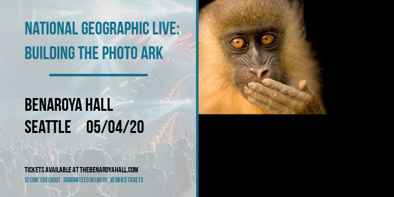 National Geographic Live: Building The Photo Ark at Benaroya Hall