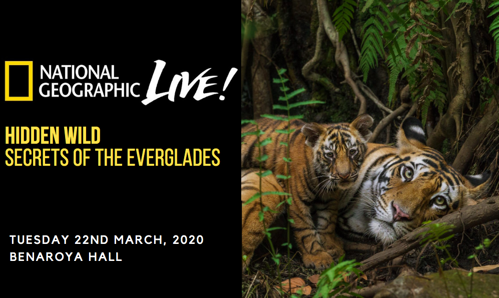 National Geographic Live: Hidden Wild - Secrets of The Everglades [CANCELLED] at Benaroya Hall