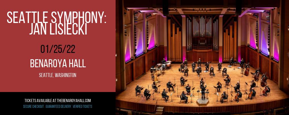 Seattle Symphony: Jan Lisiecki at Benaroya Hall