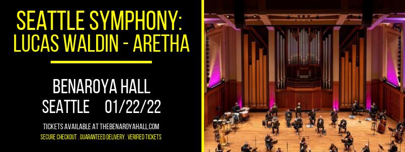 Seattle Symphony: Lucas Waldin - Aretha: A Tribute at Benaroya Hall