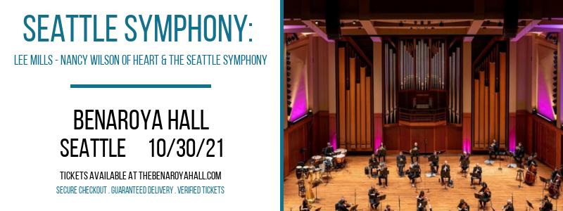 Seattle Symphony: Lee Mills - Nancy Wilson of Heart & The Seattle Symphony at Benaroya Hall